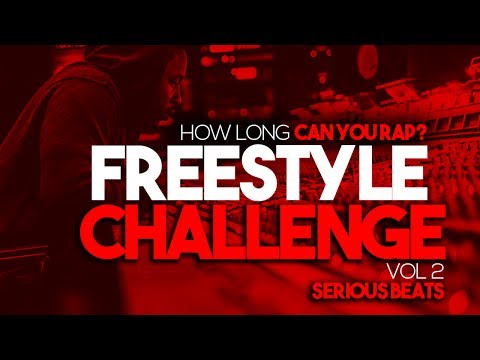 How Long Can You Rap? FREESTYLE CHALLENGE VOL 2 | 1 Hour Hard Trap Hip Hop Beats Instrumentals