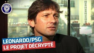 """Leonardo : """"Mon projet pour le PSG"""" (Février 2012)"""