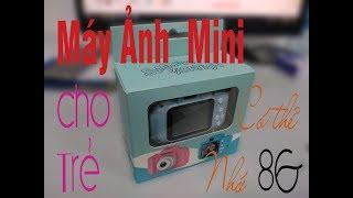 Máy Ảnh Mini Cho Trẻ Có Kèm Thẻ Nhớ