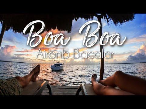 Un increíble Airbnb en Bacalar - Boa boa Bacalar