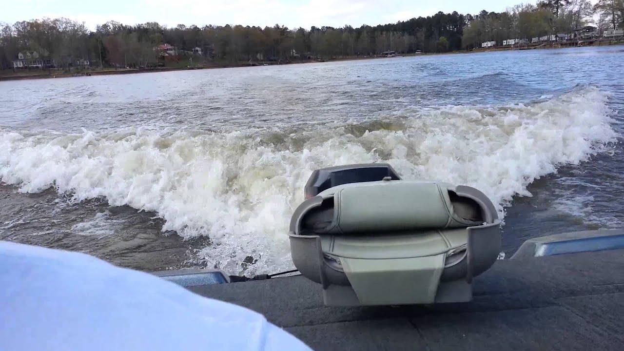 Rough Running Boat