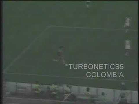 colombia vs emiratos arabes italia 1990 william vinasco