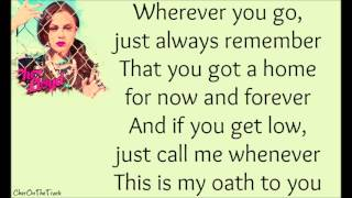 Repeat youtube video Cher Lloyd ft. Becky G - Oath Lyric Video