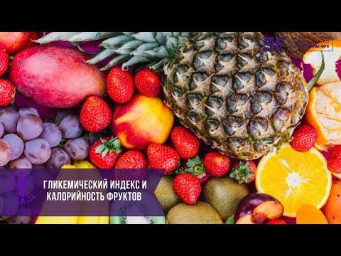 Гликемический индекс и калорийность фруктов, ягод | Рекомендации Светланы Фус