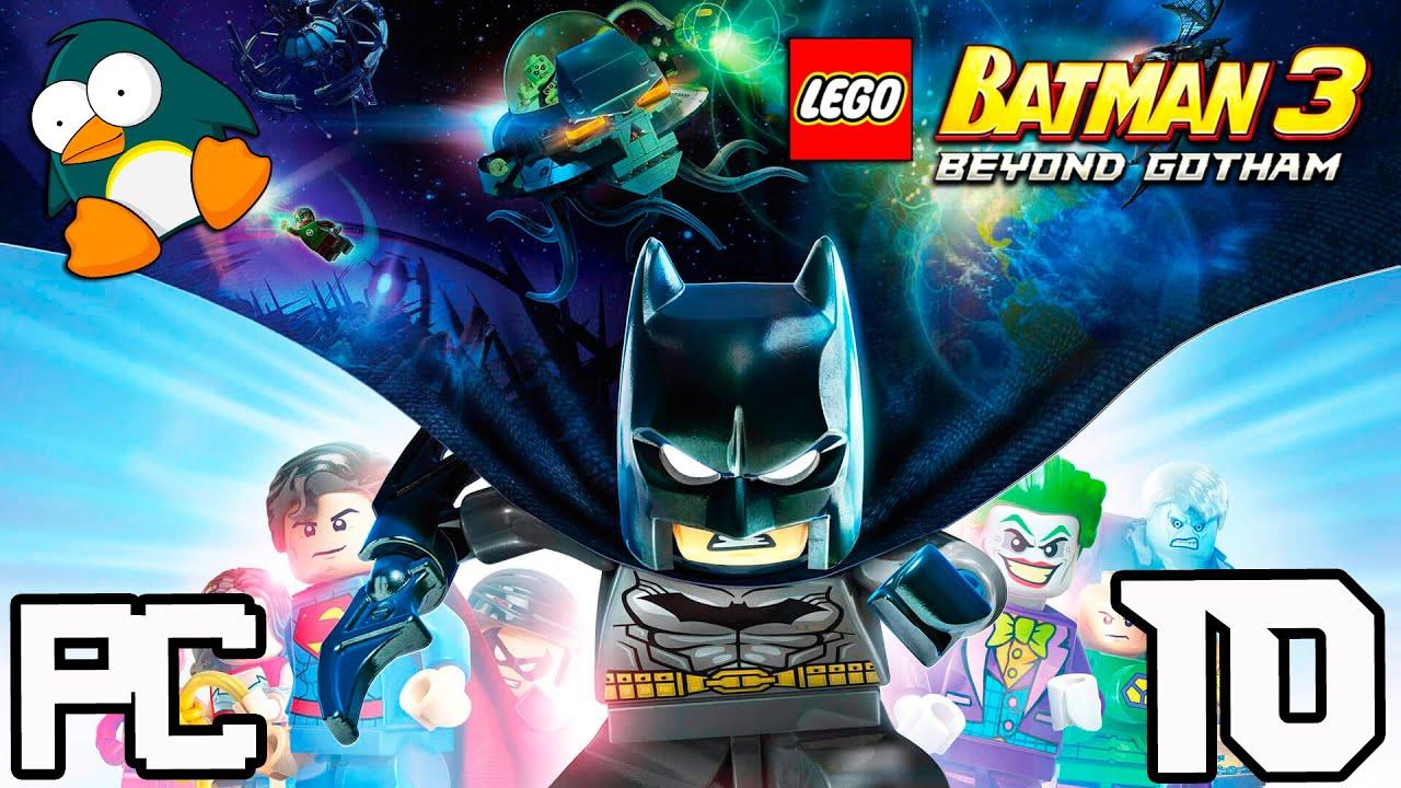 LEGO Batman 3 em Português - Jogo dos Super Heróis da Liga da Justiça PC #10 BR