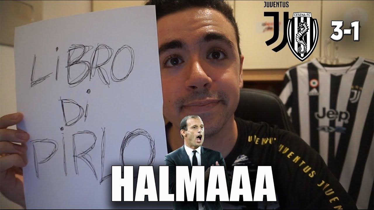 HALMAAAAA! LA PRIMA JUVE DI ALLEGRI È MOLTO SEMPLICE.. NIENTE TEORIE. Juventus Cesena 3-1