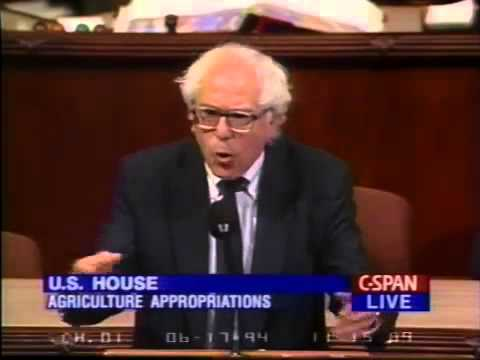 Bernie Sanders: Monsanto and the FDA (6/17/1994)