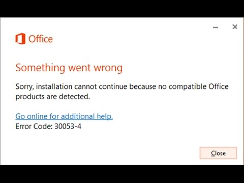MS Office Remove / Repair Not Working Fix!