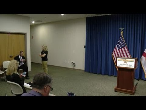 Grady Judd News Conference 1: Children hit by DUI suspect