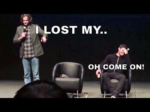 Jared Padalecki Loses His Shoe In Real Life