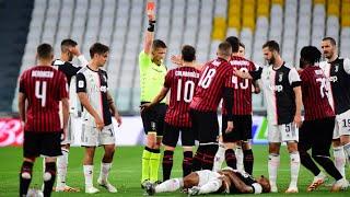 Футбол вернулся Ювентус и Милан сыграли полуфинал кубка Италии