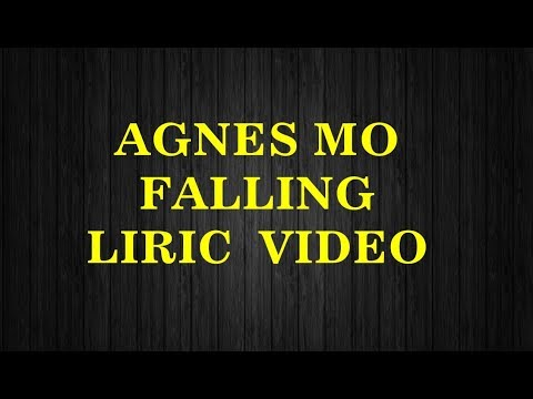 AGNES MO-FALLING-(Lyric video)+ audio