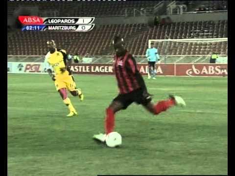 TERRANCE MANDAZA GOAL against BLACK LEOPARDS #PETER MOKABA STADIUM