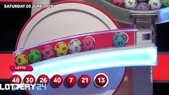 UK Lotto Draw and Results June 20,2020