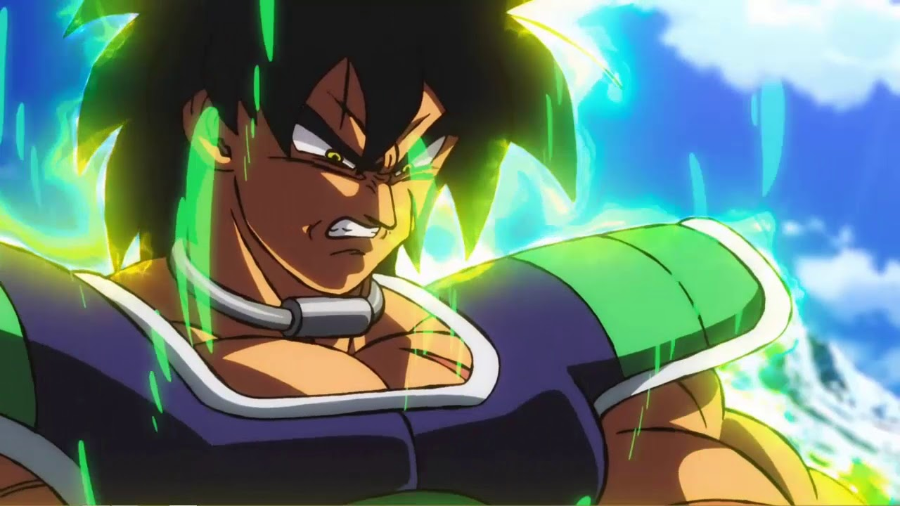 Dragon Ball Super Broly Wallpaper Engine Live Wallpaper Youtube