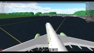 [ROBLOX] Flight with Hayabusa Airlines! :)