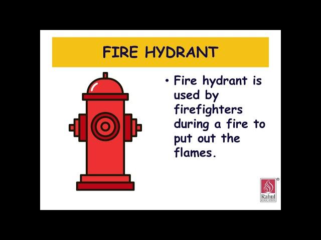 FIRST STEP - SR.KG. -  CONVERSATION - Fireman