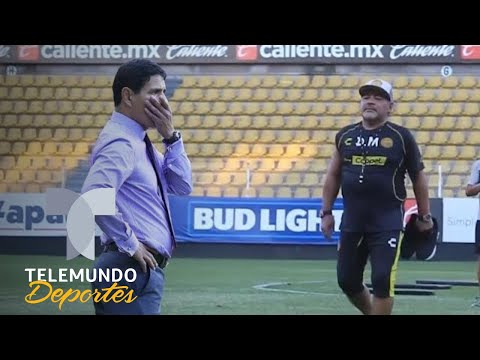 Maradona se enfrenta a un verdadero experto del Ascenso MX | Telemundo Deportes