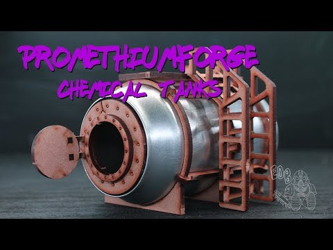 How to Build a PromethiumForge Industrial Chemical Tank