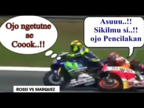 Meme Lucu Dan Kocak Abiss Insiden Rossi Vs Marquez Di MotoGP