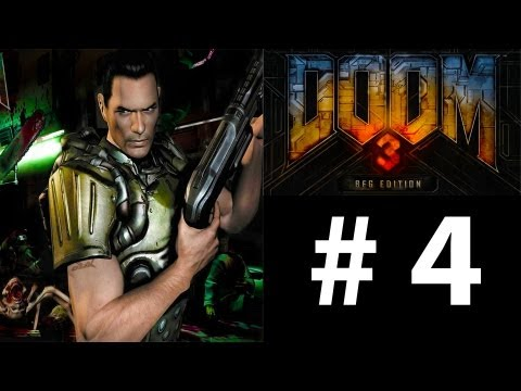 Doom 3 BFG: Part 4 - Gaining Access To The Alpha Labs (Gameplay Walkthrough)
