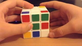 Как собрать Кубика-Рубика ( 1слой ).
