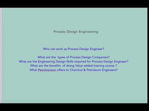 High Paid Career as  Process Design Engineer ( Chemical & Petroleum)