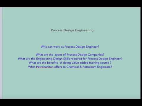 High Paid Career As  Process Design Engineer ( Chemical & Petroleum)
