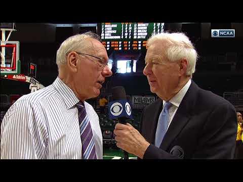 Jim Boeheim & Bill Raftery at Miami