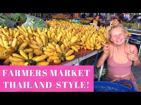AMAZING THAI FRUIT MARKET! | FRUITARIAN PARADISE!
