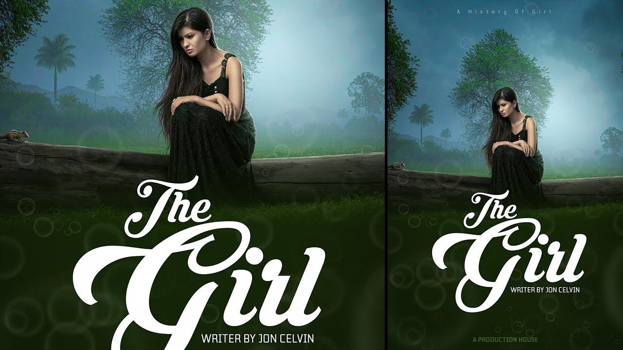 Book Cover Illustration Tutorial : Book cover design adobe photoshop tutorial youtube