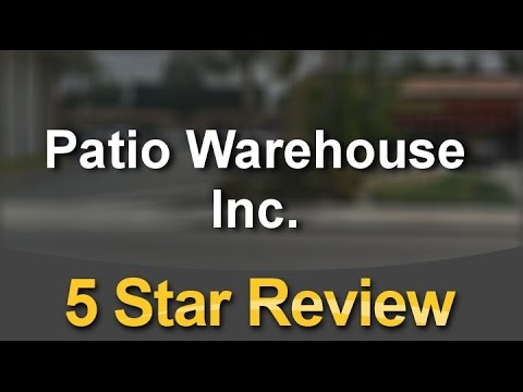 Patio Warehouse Inc. Orange Excellent Five Star Review By Roberto S.