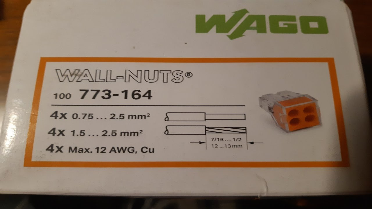 Wago Wire connectors