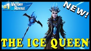 "NEW ""THE ICE QUEEN"" SKIN in FORTNITE - ICE STORM CHALLENGES // Playing With SUBSCRIBERS"