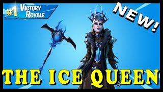 "NUOVO SKIN ""THE ICE QUEEN"" in FORTNITE - ICE STORM CHALLENGES // Giocare con GLI SUBSCRIBERS"