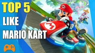 Top 5 Games Like Mario Kart | Similar Game To Mario Kart