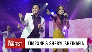 Tim2OneSheryl Sheinafia YouTube FanFest Indonesia 2017