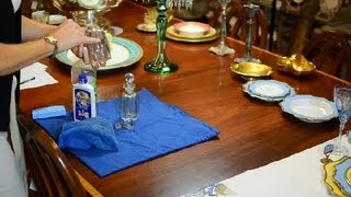 How to Clean an Antique Perfume Bottle : Antique Glassware, Pottery & More