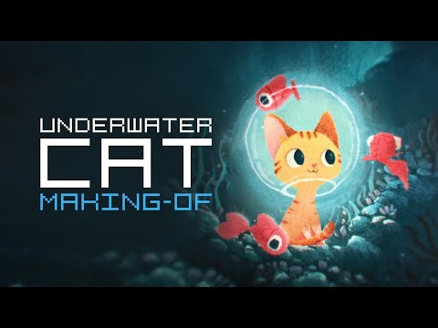 Animating an Underwater Cat: Making-of
