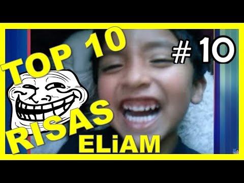TOP 10 RISAS MAS RARAS DEL MUNDO | ELiAM