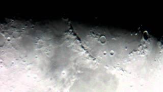 月面 アペニン山脈