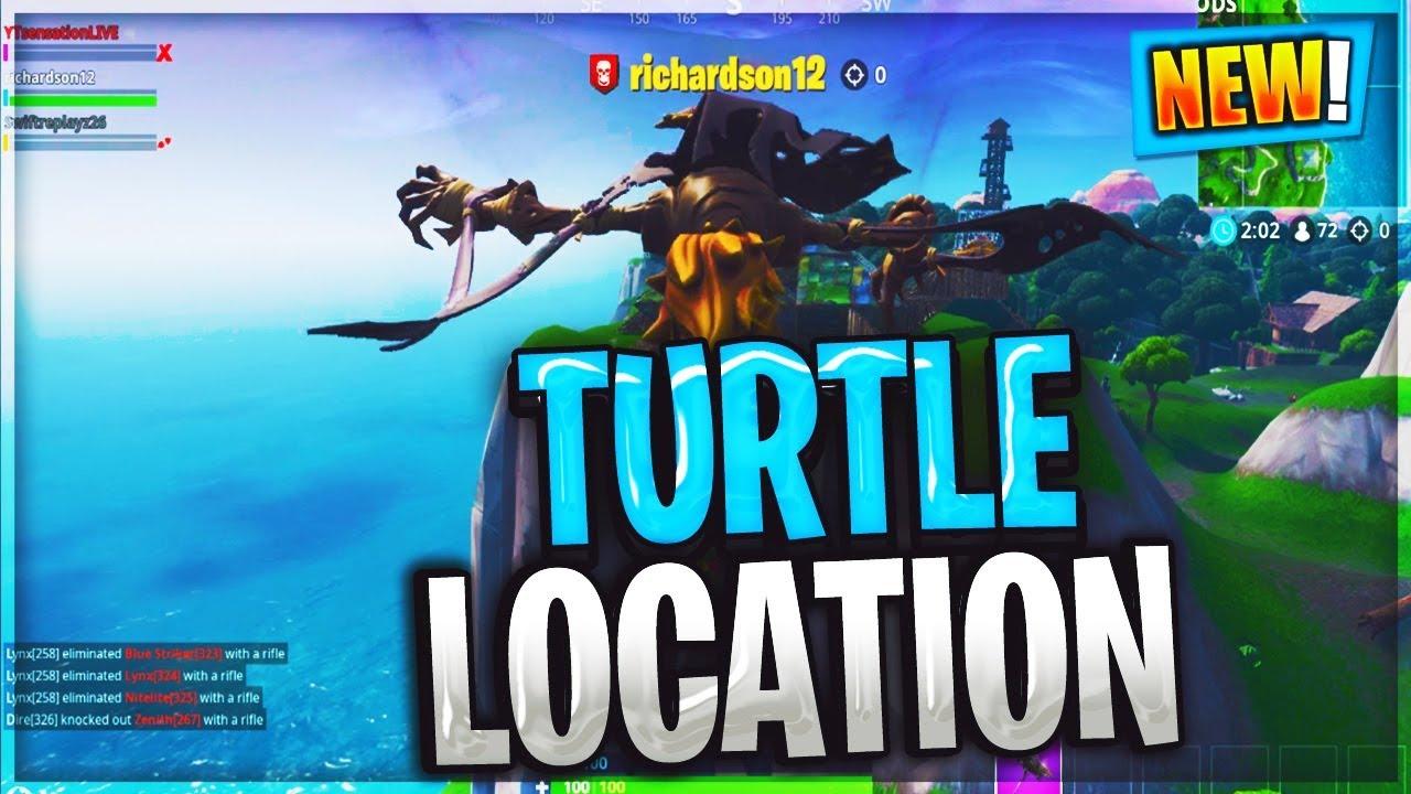Fortnite Dance On Top Of A Metal Turtle Location Guide Season 7