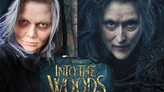 Into the Woods Witch Makeup Thumbnail