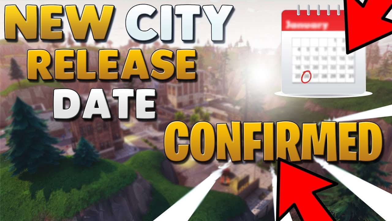 fortnite new city update release date