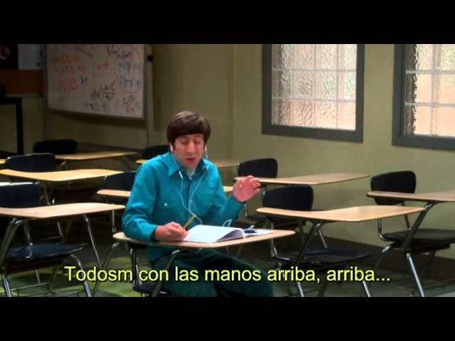 """TBBT - The Big Bang Theory. 8x02. Sheldon professor Howard -""""You shot your spit in my mouth"""""""