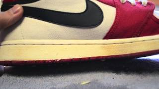 How to: Clean Midsoles/Fix Nike Pre-Yellowing