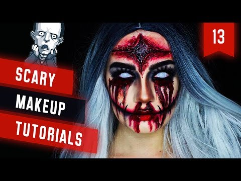 17 SCARY MAKEUP TUTORIALS/ VIRAL BEAUTY / 17 HALLOWEEN MAKEUP