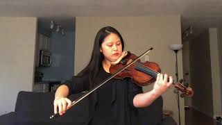 Yu-Ting Chen | The Andante from Bach's Violin Sonata No. 2