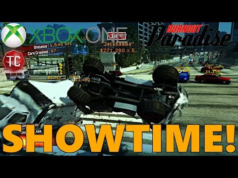 $4,000,000+ Showtime! (Crash Mode) Burnout Paradise REMASTERED! XBOX ONE Gameplay, Part 4