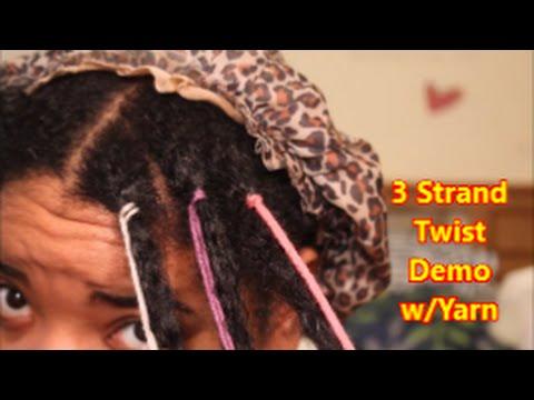 natural hair easy three
